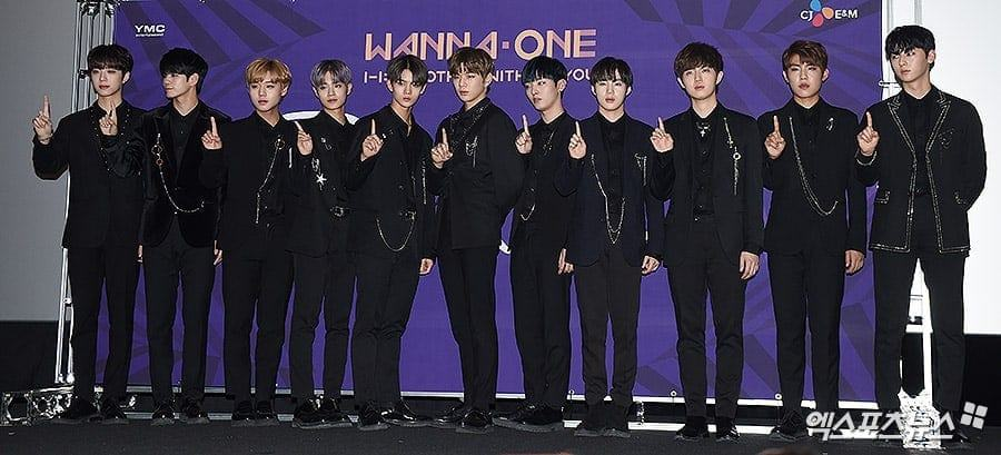 wanna one, comeback, 2017