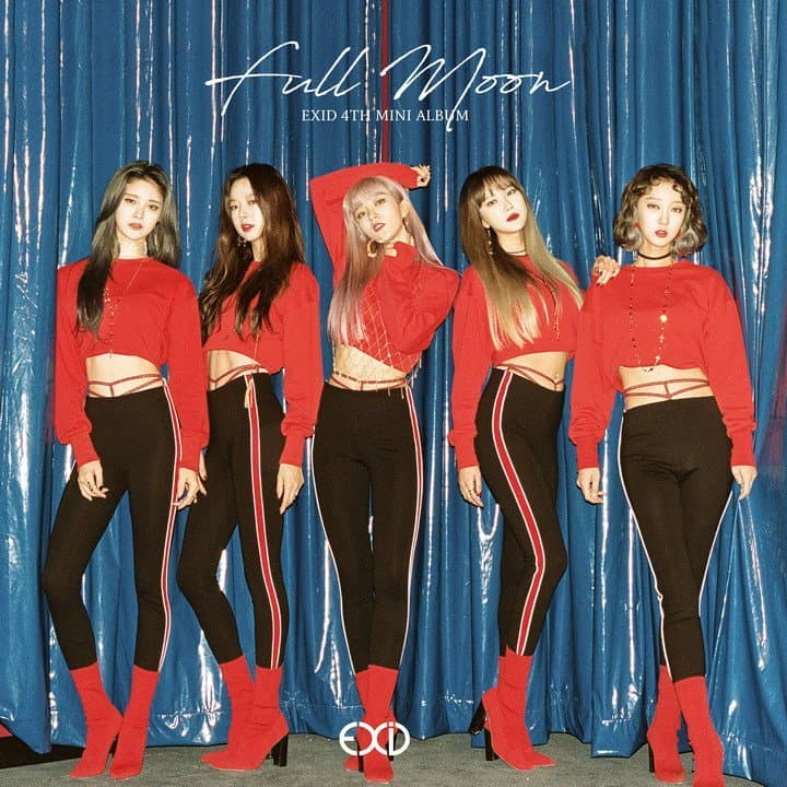 EXID, Full mon, Solji, Hani, 4th mini album