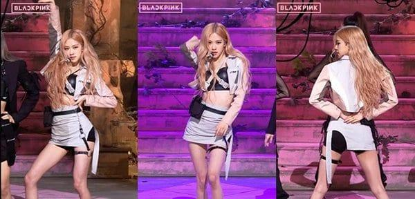 Rosé is right behind Lisa with 3,7 million views on her fancam. This beauty from YG is envied by many for having a small waist and long legs.