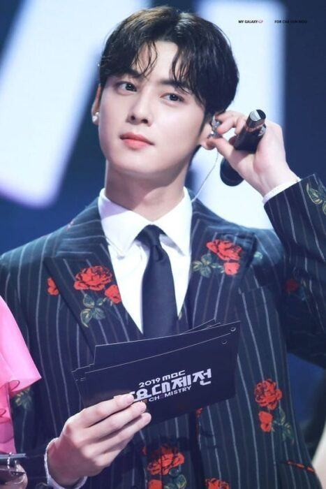 Cha Eunwoo admitted that he was not popular with girls when he was in school