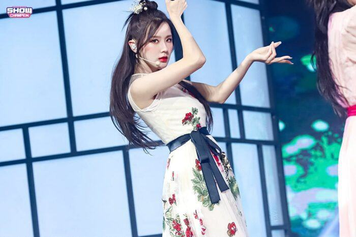 (G)I-DLE Mi Yeon with a beautiful hair
