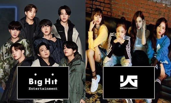 the surprising joint business of YG and Big Hit