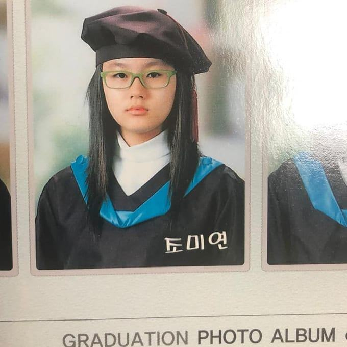 Miyeon ((G) I-DLE's past photo